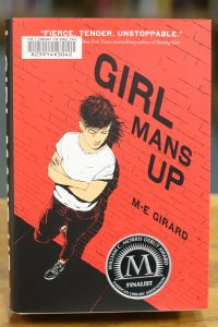 Girl Mans Up by M-E- Girard